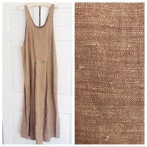 Flax by Angelheart 100% linen maxi dress
